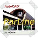 autocad параллельнные линии