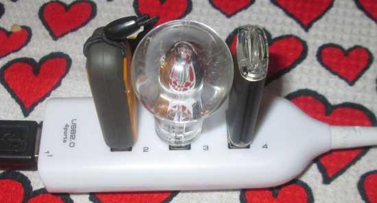 USB-flash в виде лампочки на 16GB