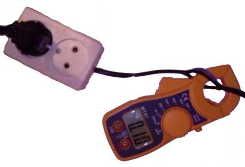 Измерение тока клещами