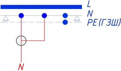 Защита от отгорания нулевого провода