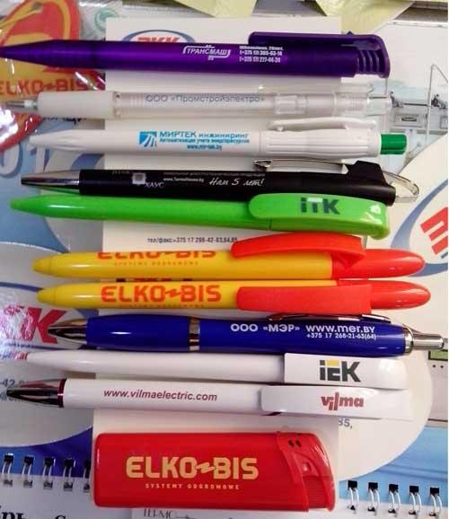 Фирменные ручки с выставки Energy Expo 2015
