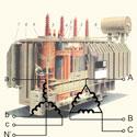 Выбор схемы соединения обмоток трансформатора