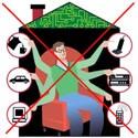 Схема управления освещением в квартире