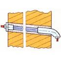 Ввод кабеля большого сечения через стену