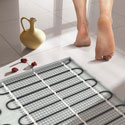 Теплый пол: прокладка кабелей в полу