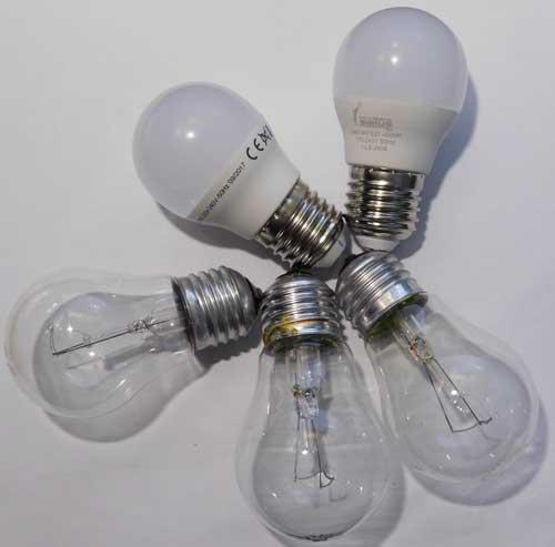 Проверяемые лампы