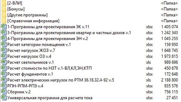 Набор программ 220soft