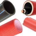 Неметаллические трубы для прокладки кабелей в земле