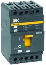 Силовой автоматический выключатель серии ВА88