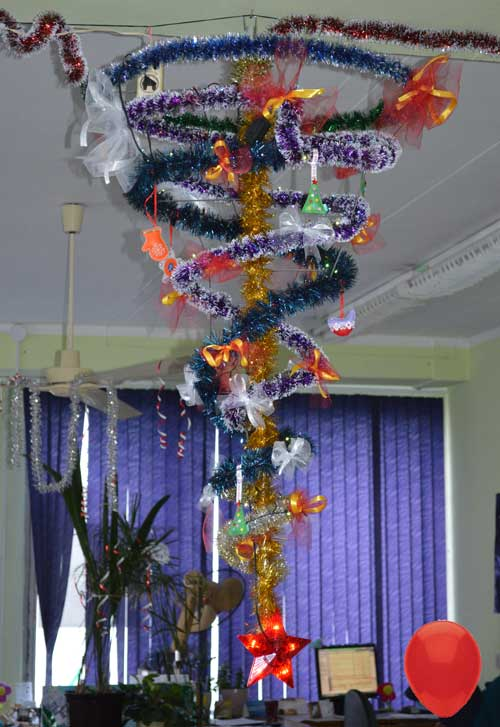 Кретивная новогодняя елка