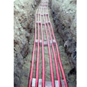 Количество кабелей в траншее