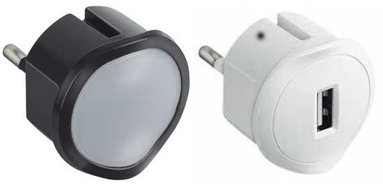 Ночник и зарядное устройство
