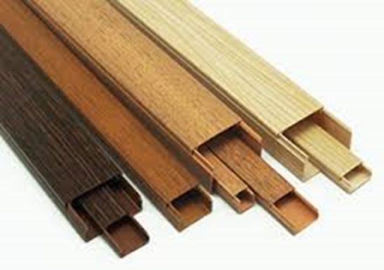 ПВХ-короба для деревянного дома