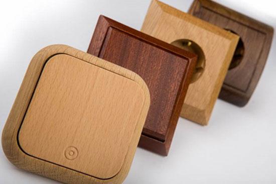 Розетки для деревянного дома