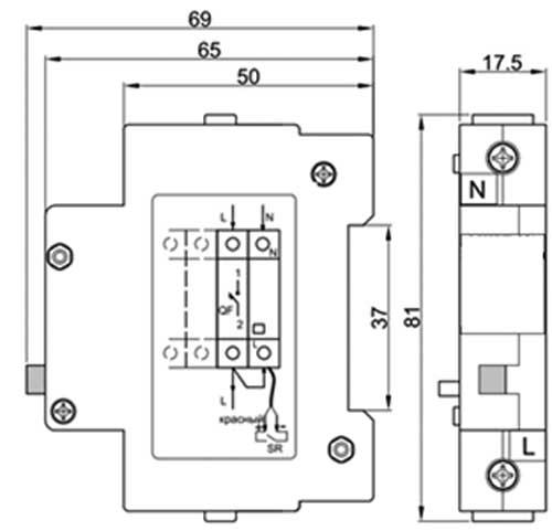 Схема подключения МИРТ-232