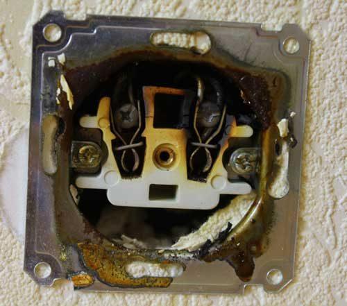 Неправильный выбор розетки для электроплиты
