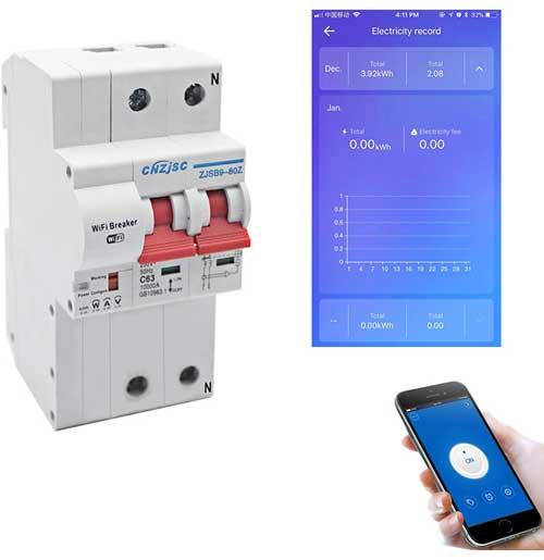 Умный выключатель + мониторинг энергии
